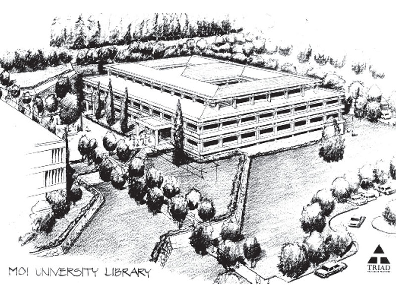 Kenyatta University And Moi University Library