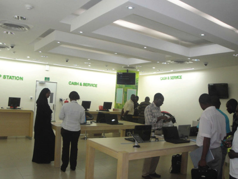 Safaricom Customer Experience Center