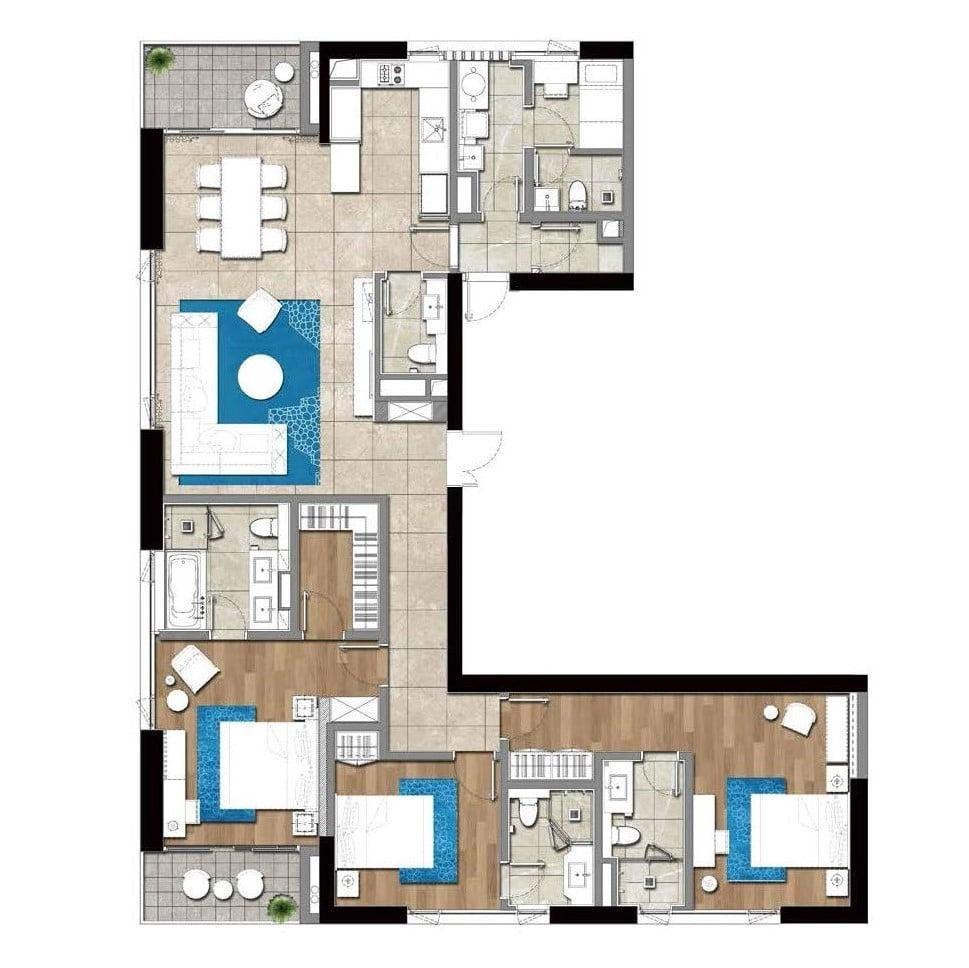 GTC_Aparments_3_bedroom